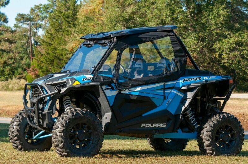 Polaris RZR Canvas Upper Half Doors 2-Seat 900/1000S/1000XP TURBO