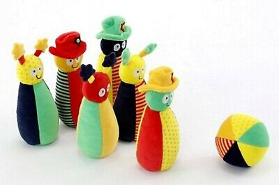 Baby Toys - Soft Character Skittles Bowling set - 7 piece set...