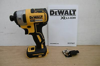 BRAND NEW DEWALT XR 18V DCF887 BRUSHLESS IMPACT DRIVER BARE UNIT