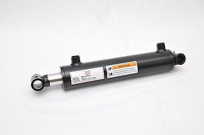 2.5 Bore X 10 Stroke Welded Cross Tube Welded Cylinder 3000 Psi Sae Ports
