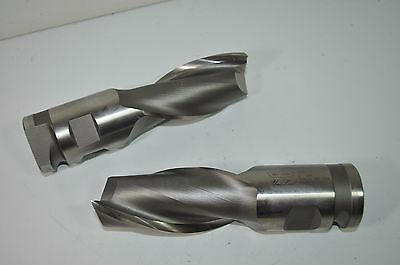 Lot Of 2 Weldon Milling Cutter End Mill Rh 2 Flute 2 Diashk 3 Loc Hs B64-11