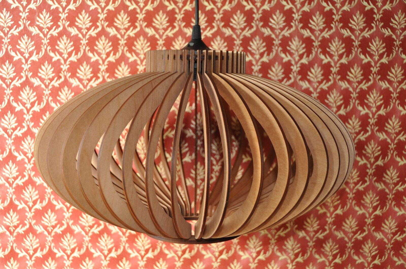 h ngeleuchte pendelleuchte deckenlampe modern k che wohnzimmer holz neu eur 135 00 picclick at. Black Bedroom Furniture Sets. Home Design Ideas