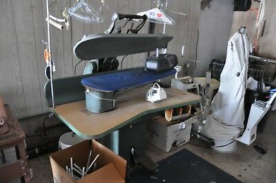 Lot Of Used Dry Cleaning Equipment Including Cissell Hoffman