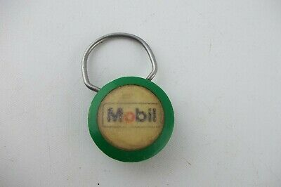 Vintage KEYCHAIN Key Chain, MOBIL Gas and Oil Gasoline, New Jersey