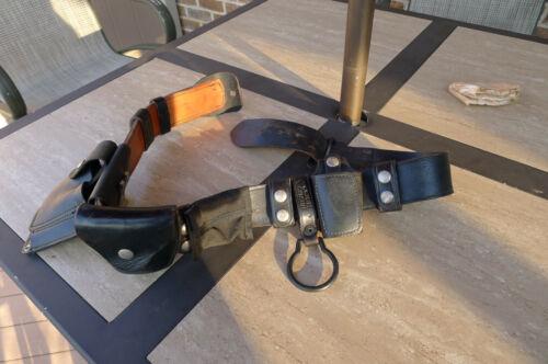 COBRA GUNSKIN POLICE UTILITY BELT WITH ACCESSORIES
