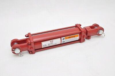2.5 Bore X 8 Stroke Hydraulic Tie Rod Cylinder 2500 Psi 38 Npt 3000 Psi