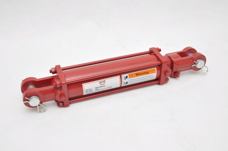 "2.5"" Bore x 8"" Stroke Hydraulic Tie Rod Cylinder, 2500 PSI, 3/8"" NPT 3000 PSI"