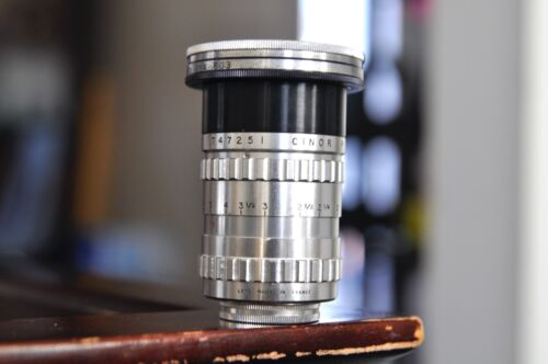 Cinor 25mm F1.8  lens for Bolex H16 C mount lens