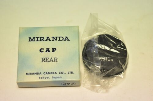 Miranda rear lens cap. New