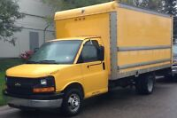 Moving-Delivery 59$/hr - NO OTHER CHARGES - 16ft Cube Van