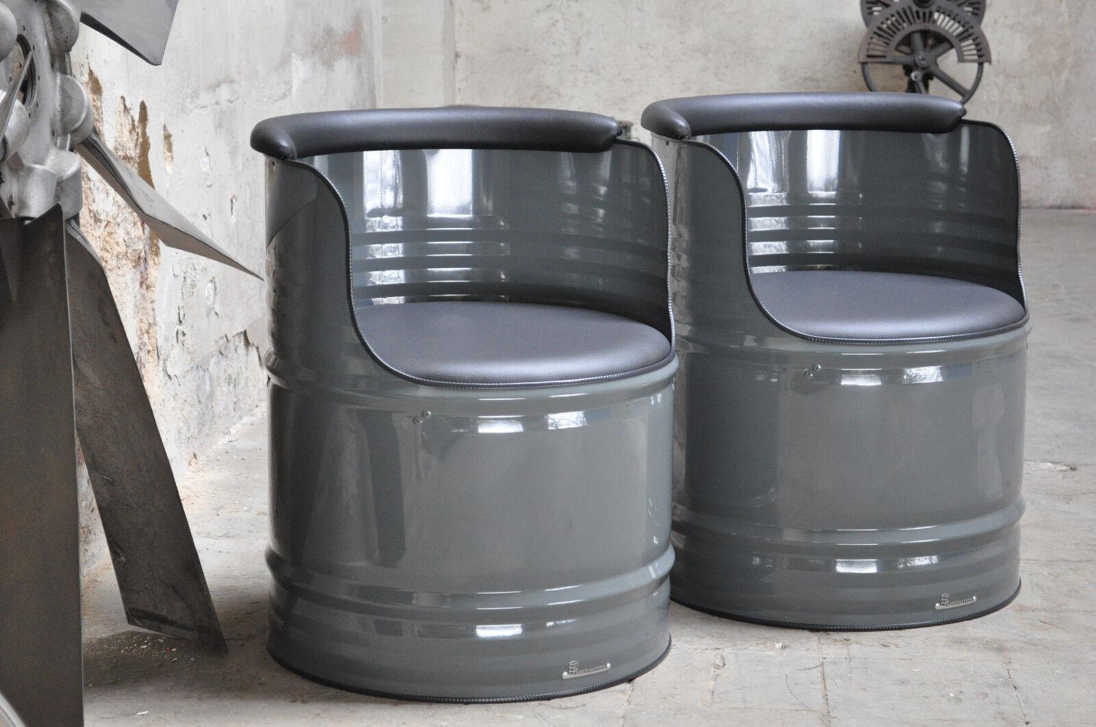 fass sessel aus 200l fass lfass blechfass barrel farben. Black Bedroom Furniture Sets. Home Design Ideas