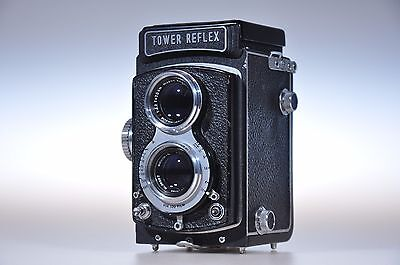 -- Highly Colectible-- Tower Reflex camera with Nikkor-Q.C 75mm f:3,5 lens