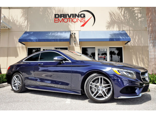 2015 mercedes s550 4matic coupe lunar blue 360 cam pano for 2015 mercedes benz s550 for sale