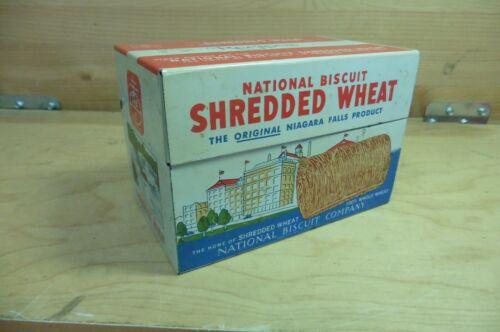 Vintage recipe can Shredded Wheat National Biscuit 1973 nabisco salesman sample