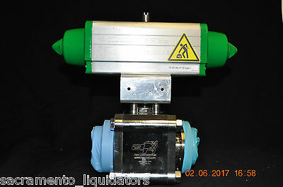 An Corporation High Vacuum Valve With Actuatech Actuator