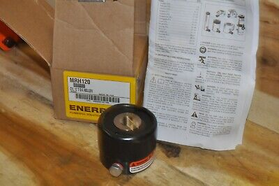 Enerpac Mrh120 12 Ton- Hollow Hydraulic Cylinder New M18 Internal Threads
