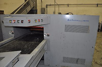 Ameri-shred Ams 7500 Industrial 75hp Paper Shredder Input Output Conveyor