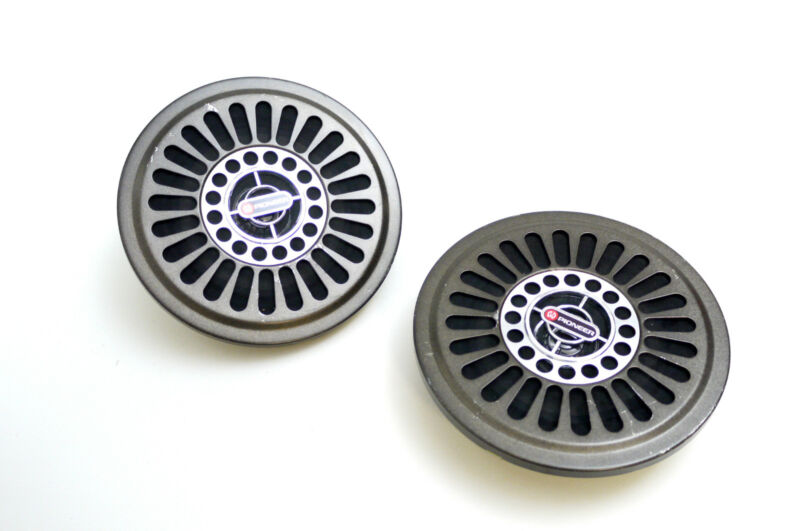 2x Pioneer TS-121 Car Vintage Hifi Full Range Speaker/Speaker Max.20W 4Ω