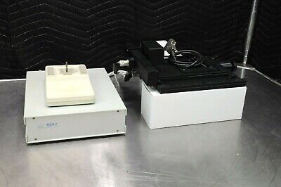 Marzhauser Motorized Microscope Stage Wetzlar 35579 Scan Im 100x100 Xy Joystick