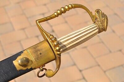 1810 American Artillery Officer's Eaglehead Sword Eagle Head Pre Civil War Sword