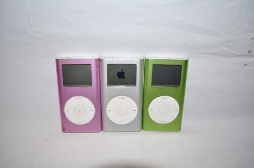Lot of 3 Apple iPods A1051 Not turning on or Corrupt -Not Working- Parts/Fix -sb