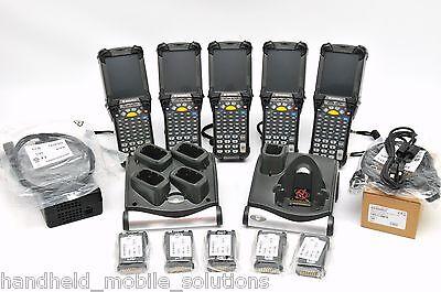 Lot Of 5 Symbol Motorola Mc9090-gk0hjefa6wr Wm5.0 Imager Barcode Scanner