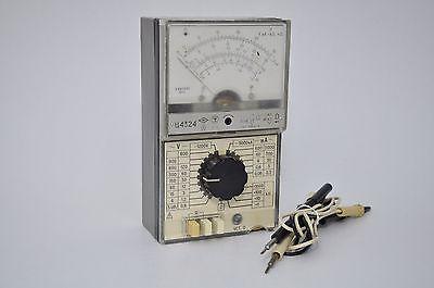 4324 Multimeter Voltmeter Ammeter Analog Tester Vintage Russian Soviet Ussr