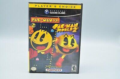 Pac-Man vs./Pac-Man World 2 (Nintendo GameCube, 2003) TESTED COMPLETE CIB