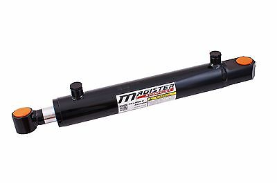 Hydraulic Cylinder Welded Double Acting 2 Bore 8 Stroke Tang 2x8 Wtg Style New