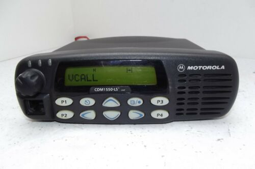 MOTOROLA CDM1550 LS+ VHF MOBILE RADIO 45W 160 CHANNELS