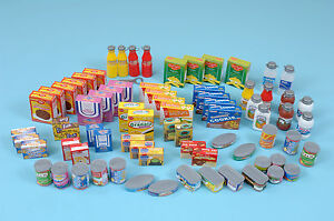 Plastic Supermarket Food Set (Children's role play) Pre-school/nursery