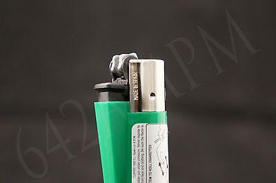 10 New Refillable Clipper Full Size Lighters 8 pcs Raw & 2 pcs Element Design