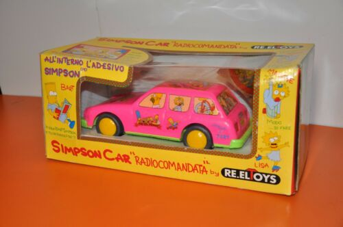 The SIMPSONS - UNOPENED 1992 RADIO CONTROLLED CAR from ITALY