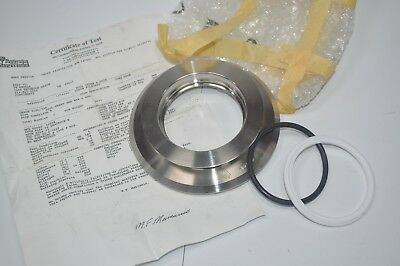 New 3a Sanitary Tank Flange Weld Spud 4 Center Hole 3.5 Heat Stamped 414143