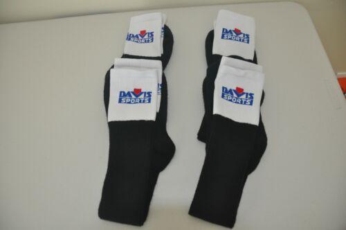 Umpire Black Foot Socks Gerry Davis / Four (4) Pairs