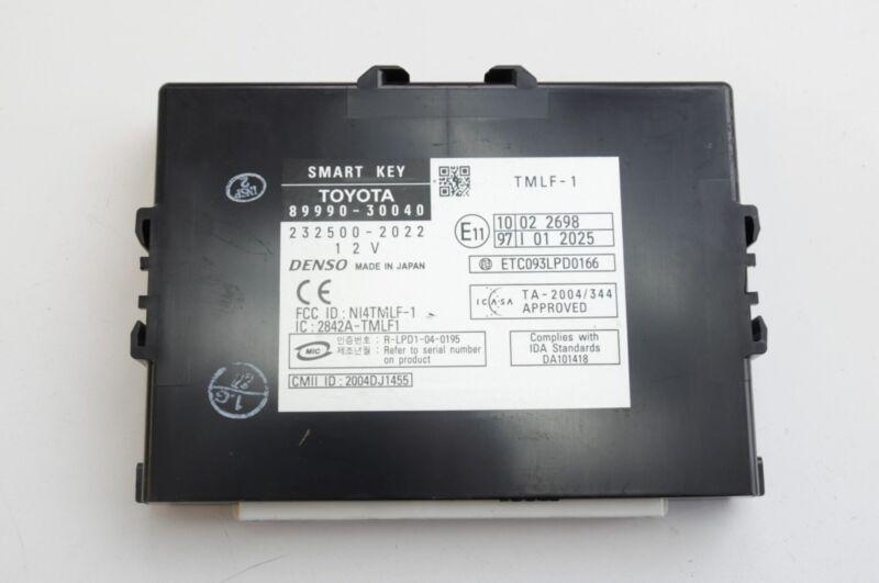 LEXUS GS 2010 RHD SMART KEY CONTROL MODULE ECU 89990-30040