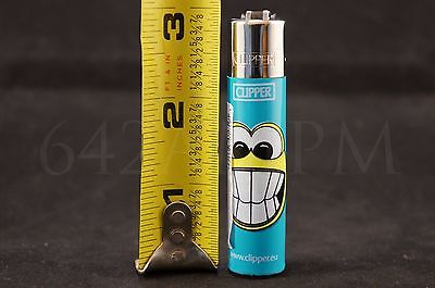 8 pcs New Refillable Clipper Full Size Lighters Inked Girls