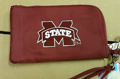 Mississippi State Bulldogs Wallet (Mississippi State Bulldogs ID Wallet Wristlet Cell Phone Case Charm 14 Purse)