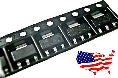 Ams1117-5.0 5 Pcs Lm1117-5.0 Ams1117 5.0v 1a Voltage Regulator - From Usa