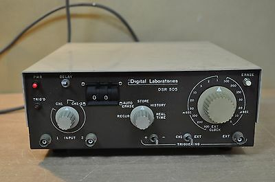 Digital Laboratories Inc. Model Dsr-505 230v 20w 50hz Vintage Equipment