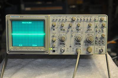 Tektronix 2232 100mhz Two Channel Digital Oscilloscope