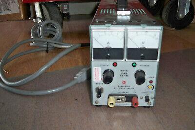 Kikusui Pad35-5l Dc Linear Power Supply - Tested