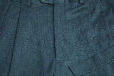 JB Britches Men's Gary All Season Wool Pleated Dress Pants 34 x 28
