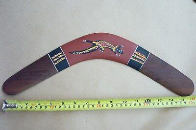Australian Aboriginal Boomerang 16inch Hand Painted.