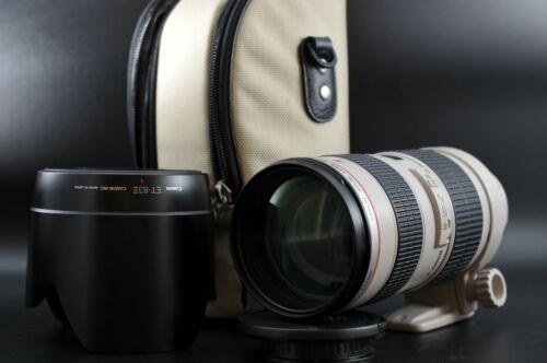 [Mint] Canon EF 70-200mm F/2.8 L USM AF Telephoto Zoom AF Lens w/ Hood