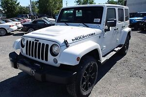 2017 Jeep WRANGLER UNLIMITED, 2 TOITS SMOKY MOUNTAIN, DEL