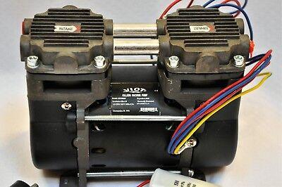 Dry Run Twin Piston Oilless Vacuum Pumpcompressor 1.5cfm Pushpull O2 Generator