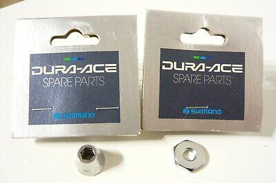 Shimano #8700500/870060 Dura Ace7400 brake caliper lock nut and washer x 1 each