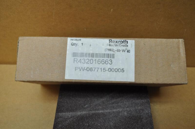 REXROTH R432016663 PNEUMATIC SOLENOID VALVES, 24 VDC (NEW IN BOX)