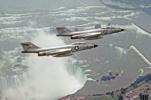 """USAF McDonnell F-101 Voodoo  ((8.5""""x11"""")) Print"""